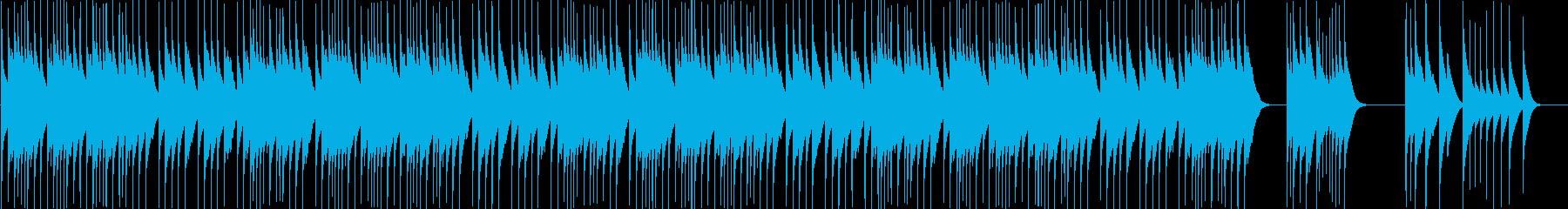【オルゴール】クリスマス曲Wewish2の再生済みの波形