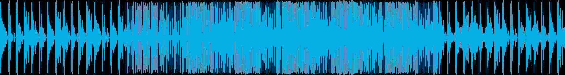 暗めのテクノです。メロディーあります。…の再生済みの波形