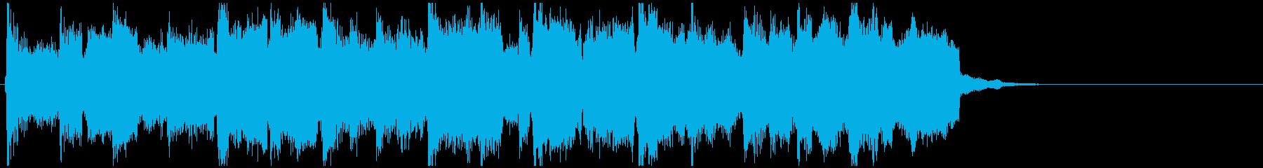 宿屋でゆっくり休む系のリコーダージングルの再生済みの波形