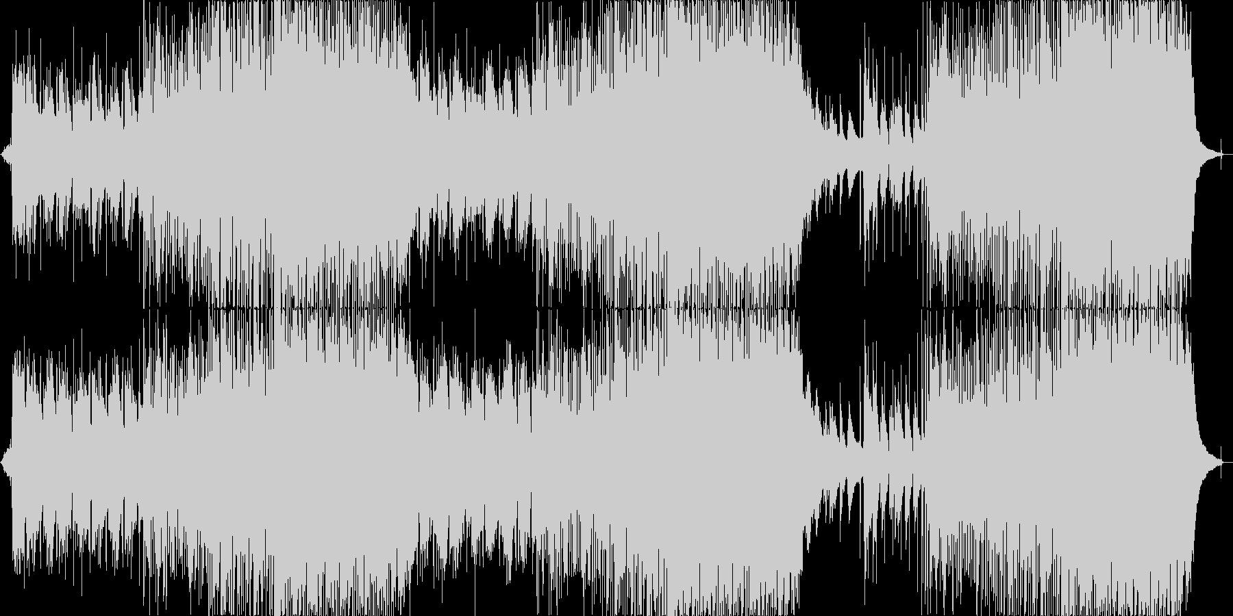 チルステップ・インディーフォーク・自然旅の未再生の波形