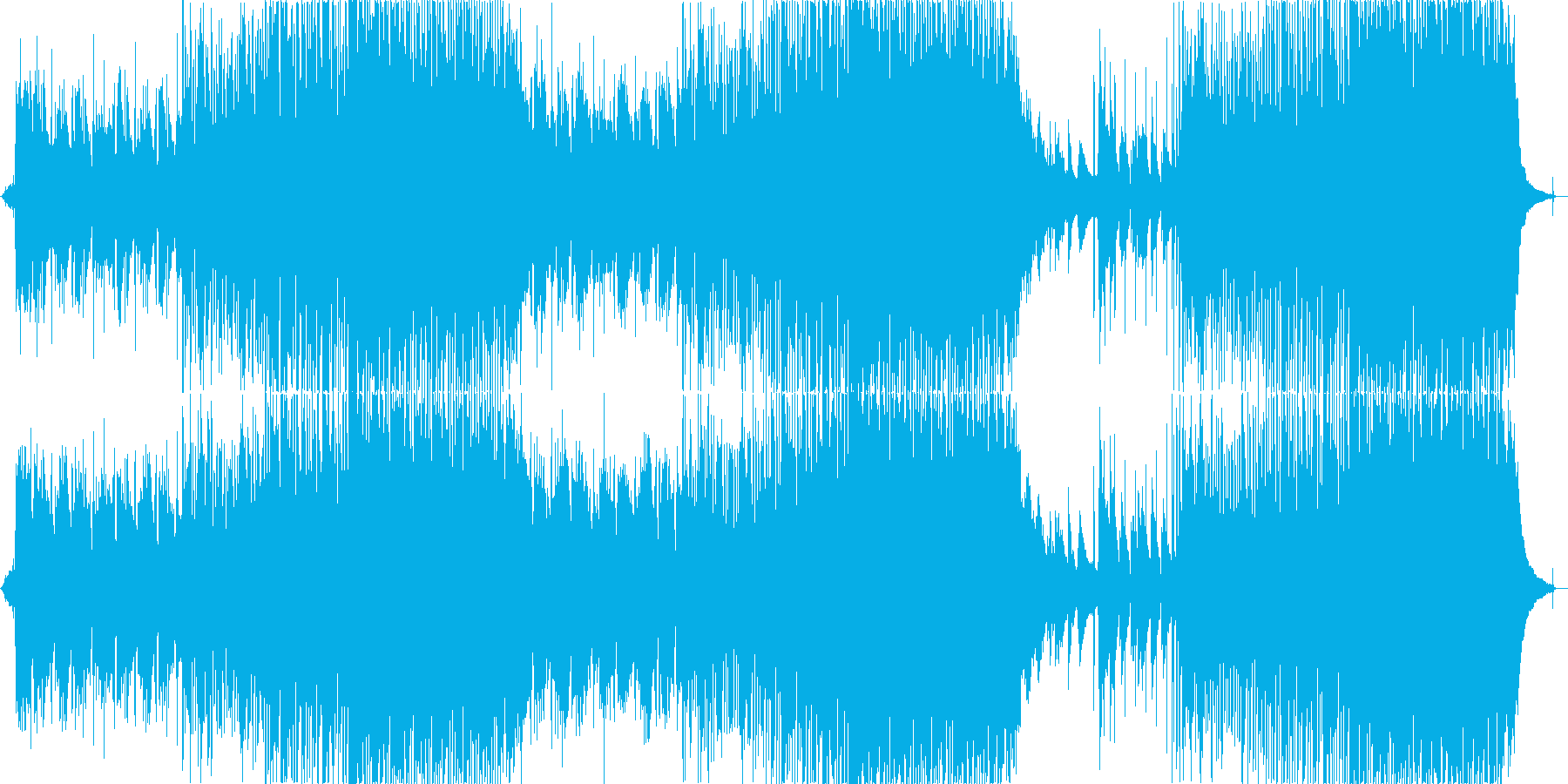 チルステップ・インディーフォーク・自然旅の再生済みの波形