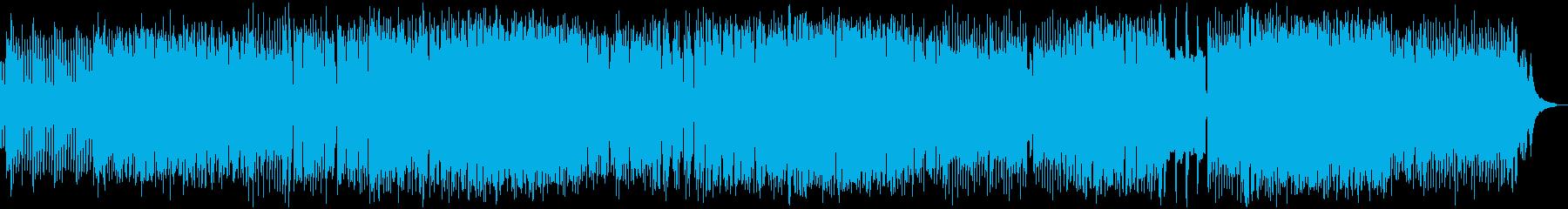 緊迫感のある日本語ロックの再生済みの波形