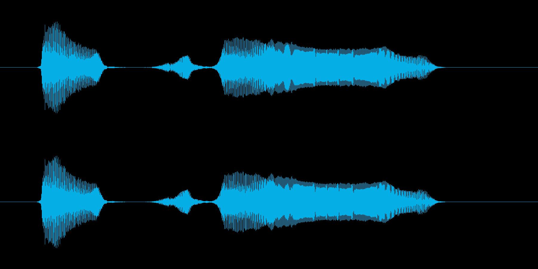レッツゴー!の再生済みの波形