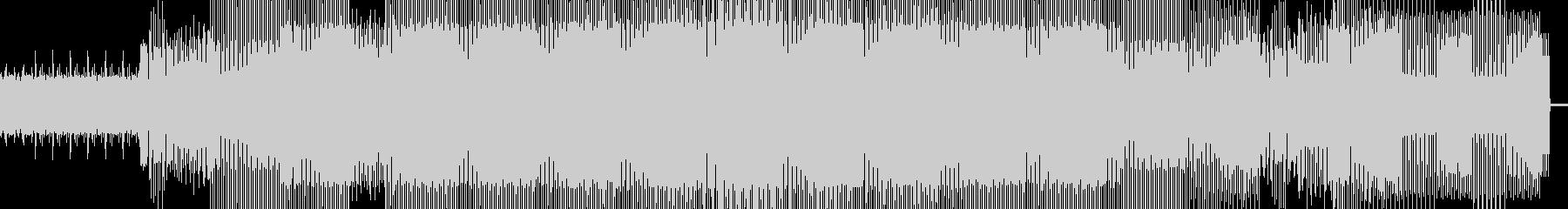 クラシックハウスのピアノスタイルの...の未再生の波形