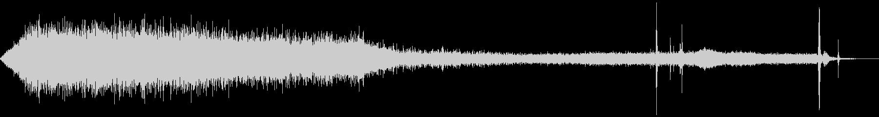 ハマーH1 SUV:INT:アスフ...の未再生の波形