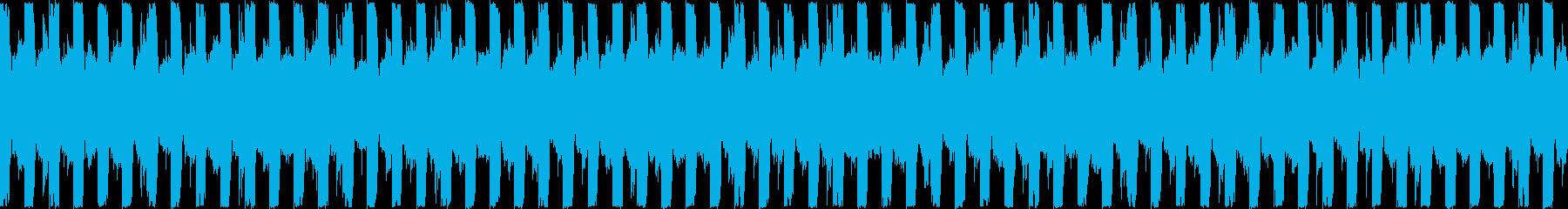 運動・フィットネス/30秒ループ曲3の再生済みの波形