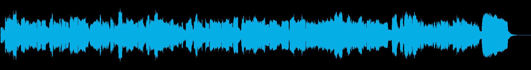 【童話プロローグ風BGM】オカリナ絵本の再生済みの波形