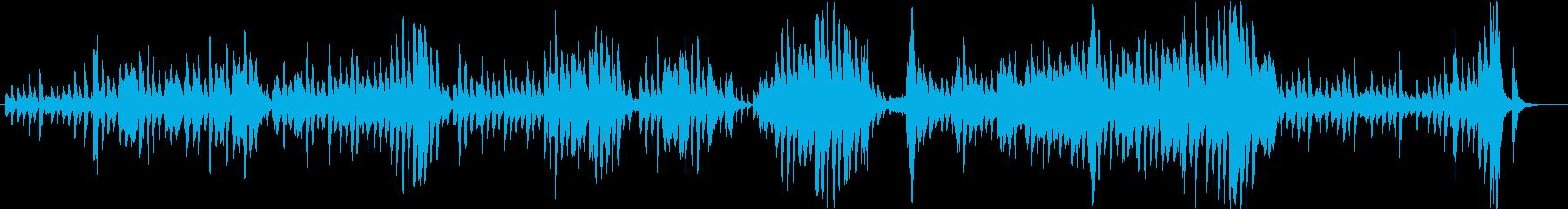 ちょっぴりコミカルなダークファンタジー曲の再生済みの波形