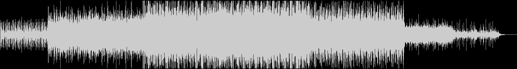 アフリカ風BGMですの未再生の波形