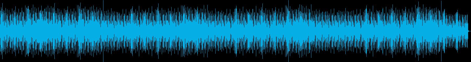 静かで美しいアンビエントサウンドの再生済みの波形