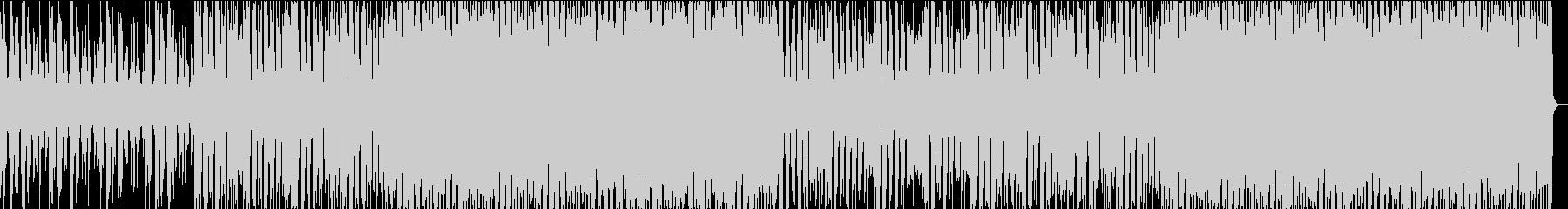 クラシックスタイルのディスコの未再生の波形