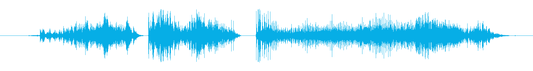 モンスター 窒息ゾンビ09の再生済みの波形