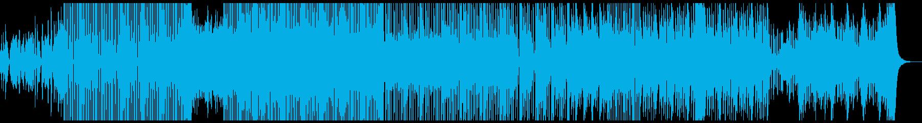 明るく陽気な雰囲気から、ダークな曲調にの再生済みの波形