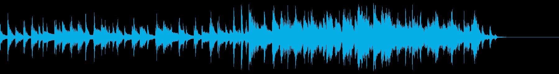 ポジティブ、知的なファイト感イメージの再生済みの波形