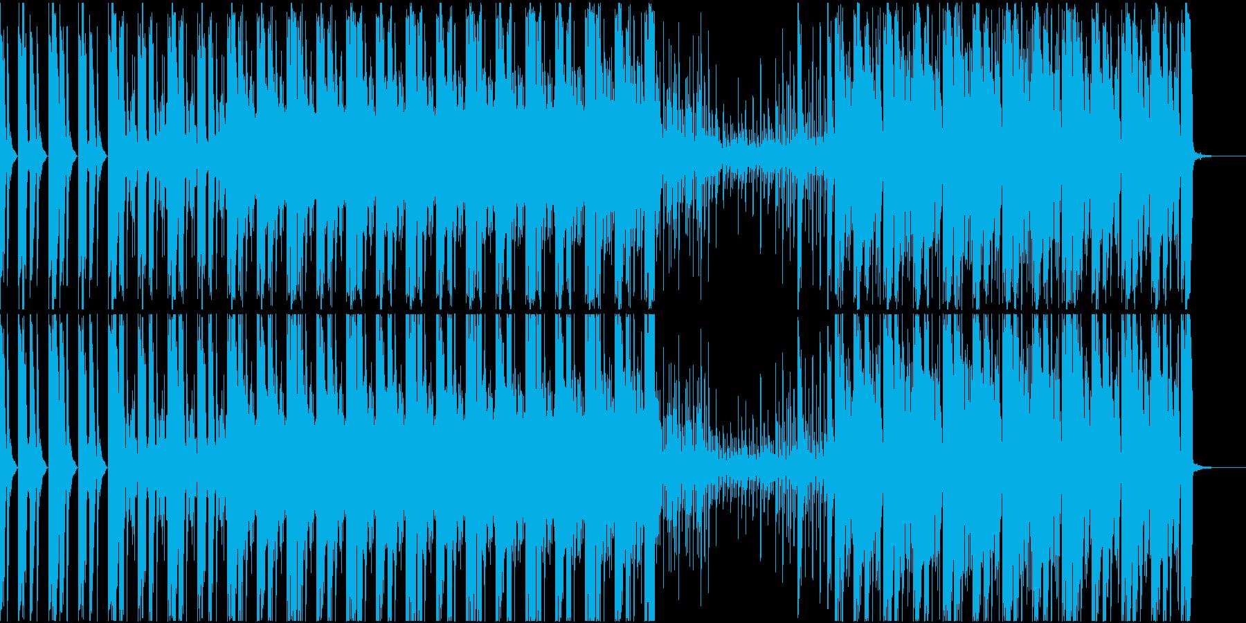 トランス系BGMの再生済みの波形