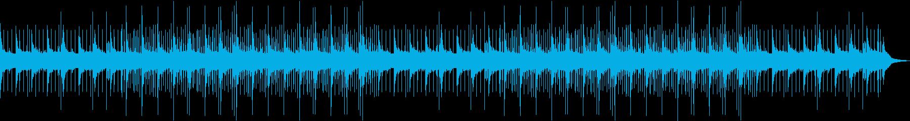 優しいチルアウト・ローファイヒップホップの再生済みの波形