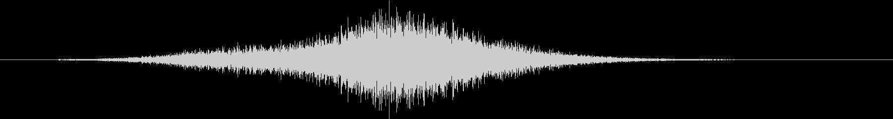 スイープ6によるアプリケーションパスの未再生の波形