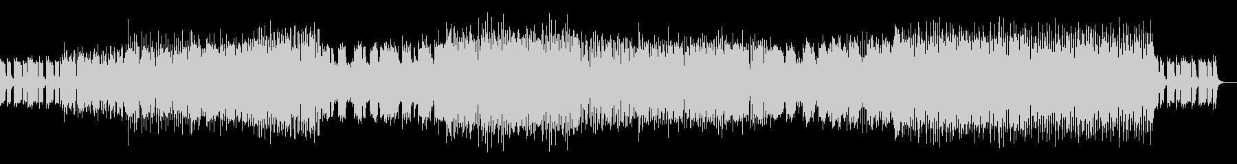ハウスミュージック2の未再生の波形