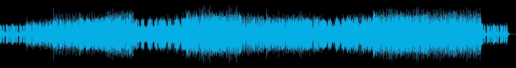 ハウスミュージック2の再生済みの波形