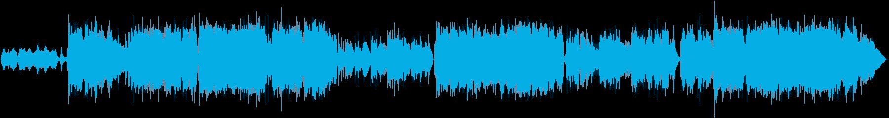 感動のシーンをオーケストレーションで演出の再生済みの波形