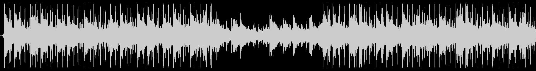 60秒企業BGMなどに明るくシンプルな曲の未再生の波形