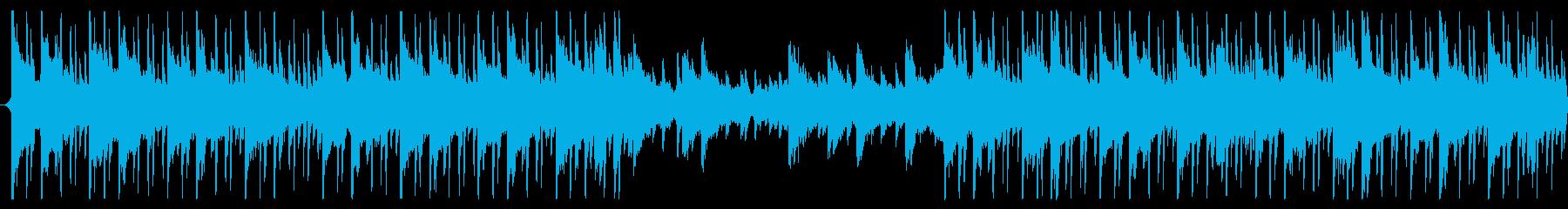 60秒企業BGMなどに明るくシンプルな曲の再生済みの波形