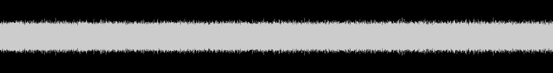 テレビの静的ホワイトノイズの未再生の波形