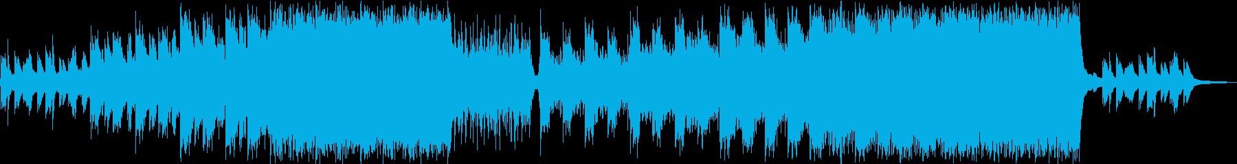 【CM,映像】感動的なピアノ、壮大の再生済みの波形