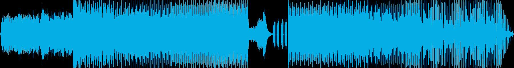 オーケストラ、エレクトロニック、ハ...の再生済みの波形