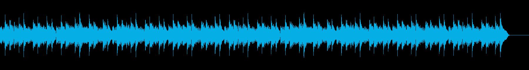 童謡 こいのぼり (カントリー風)の再生済みの波形