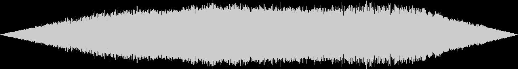 機械的な起動する音の未再生の波形