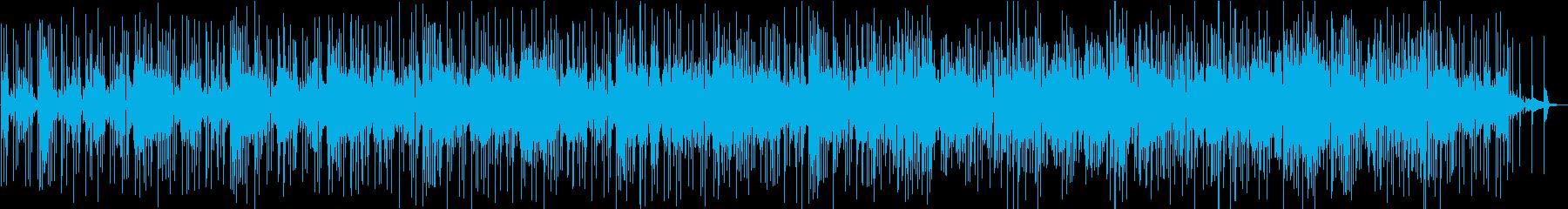 テクノロジーのネガティブな印象の再生済みの波形