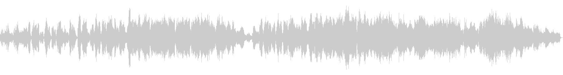 クラリネットが印象的な悲しいバラードの未再生の波形