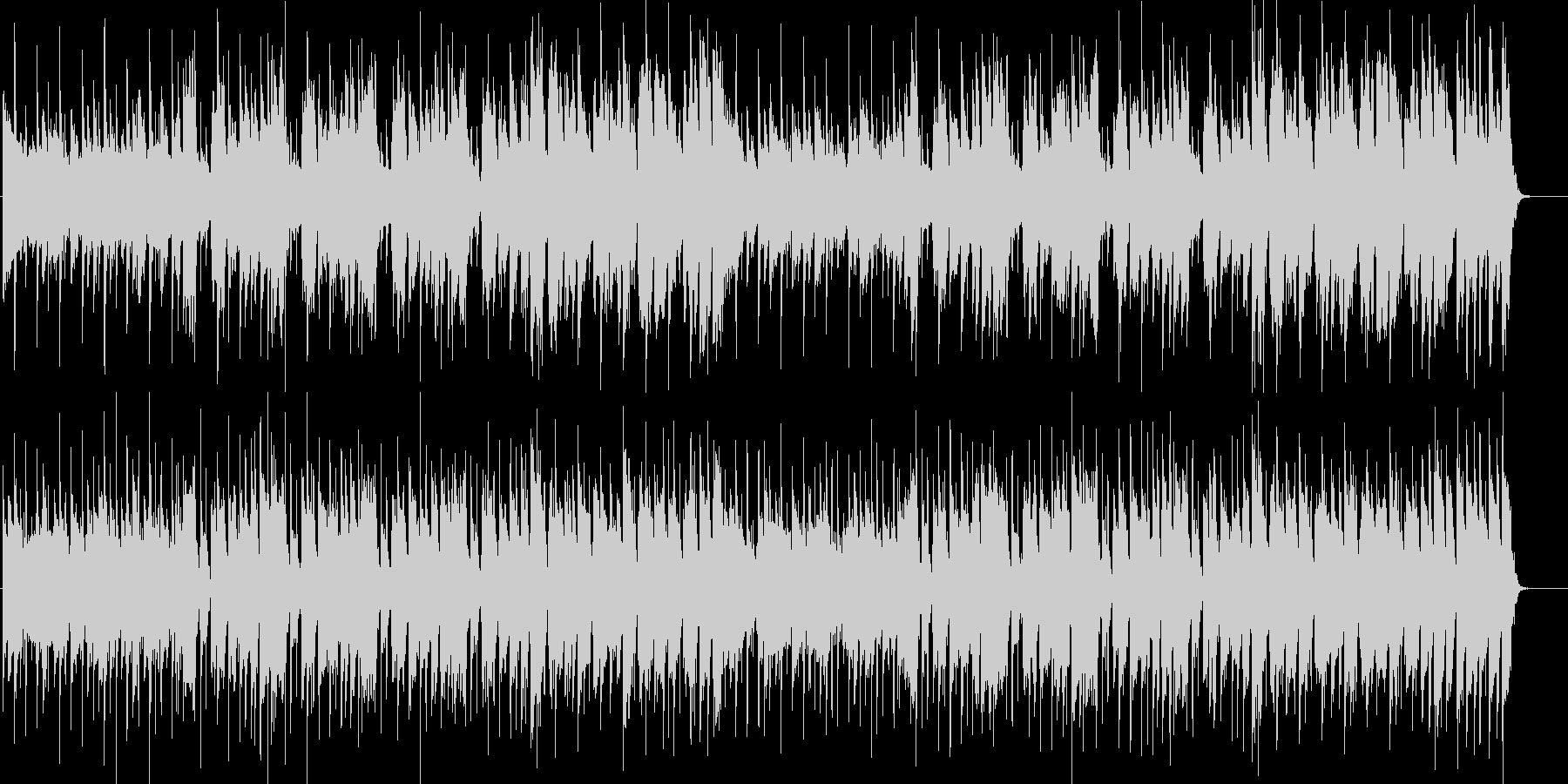 都会なイメージのソウルミュージックの未再生の波形