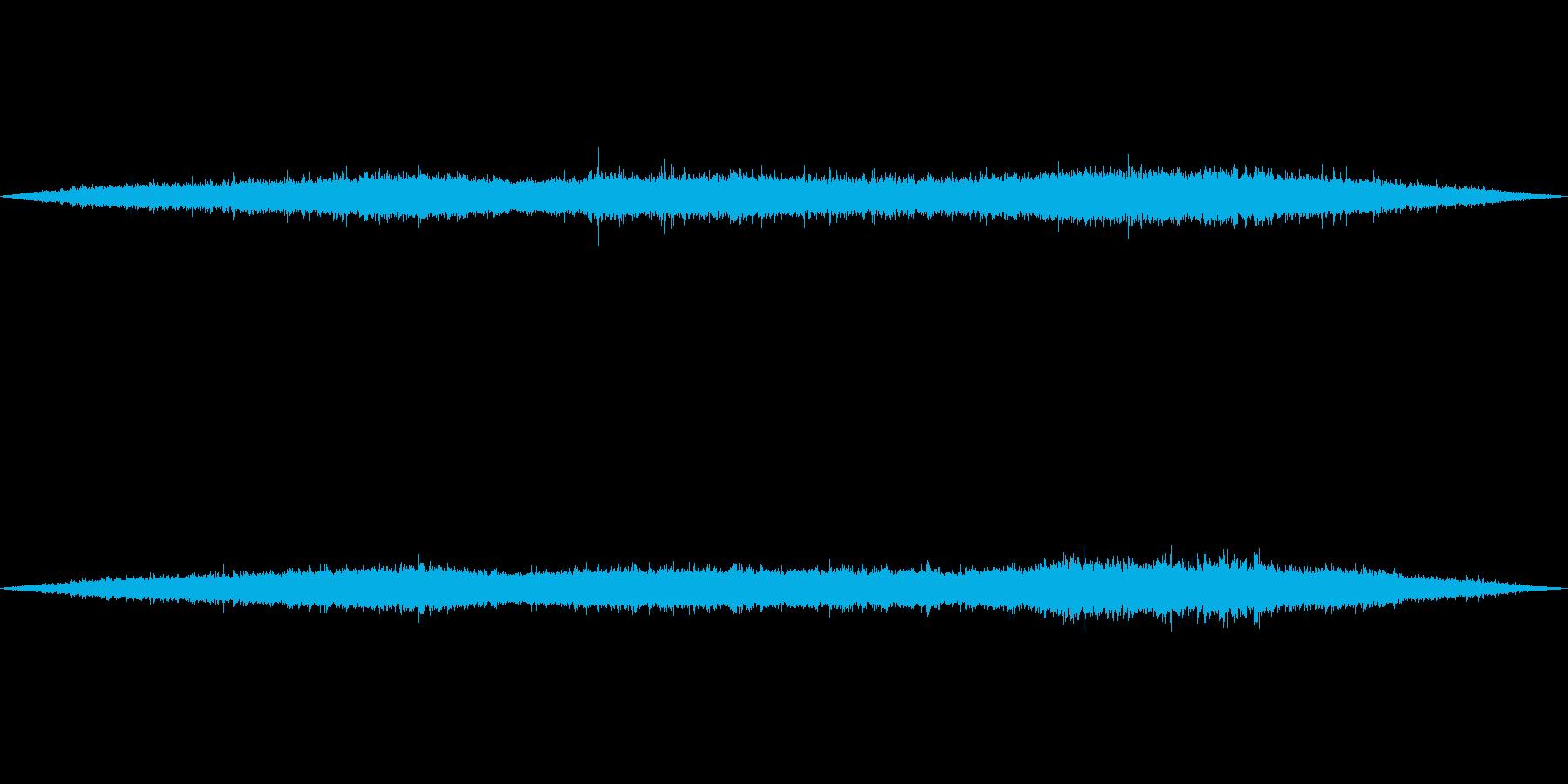 【環境音】500個の風鈴の音01の再生済みの波形