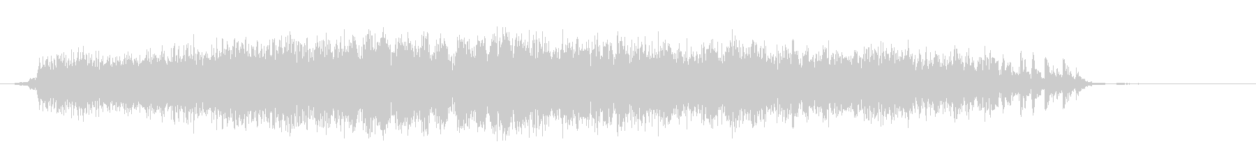 ダイビングメタルプレッシャーストレ...の未再生の波形