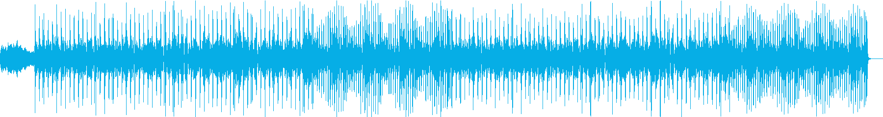 YouTubeオープニングファンクポップの再生済みの波形