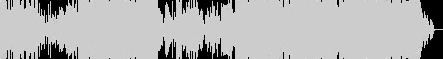 ラスボスゾーマをイメージしたエレクトロの未再生の波形