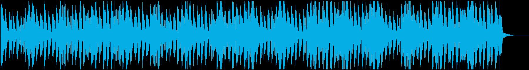 ハロウィン、ほんのり不気味マーチの再生済みの波形