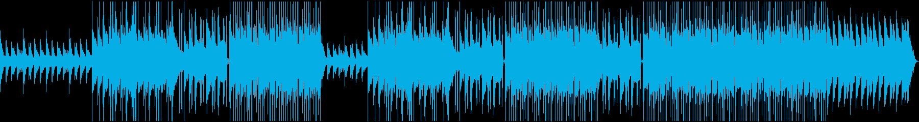 チルアウト R&B ローファイビートの再生済みの波形