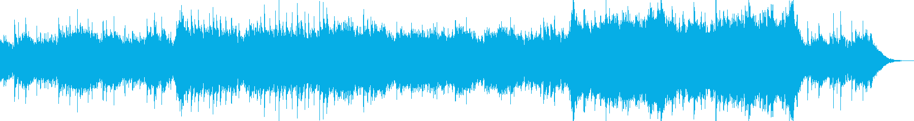 これはピアノのリードが層になったメ...の再生済みの波形