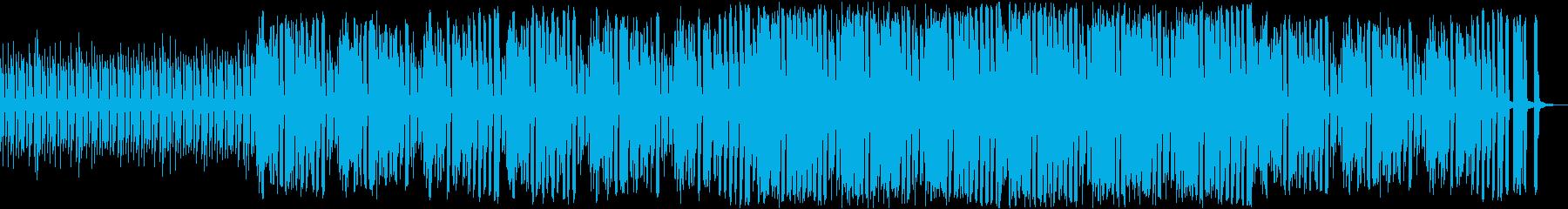 コミカル・パズル・アプリ・ゲームの再生済みの波形