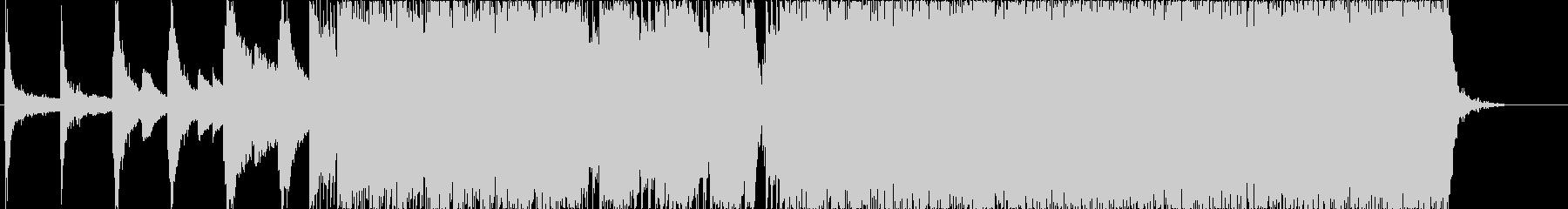和楽器インストの未再生の波形