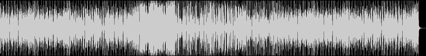 ファンキーなインストの未再生の波形