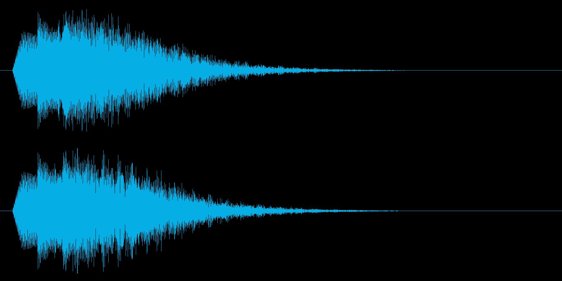 流れ星/流星/コロコロ/かわいいの再生済みの波形