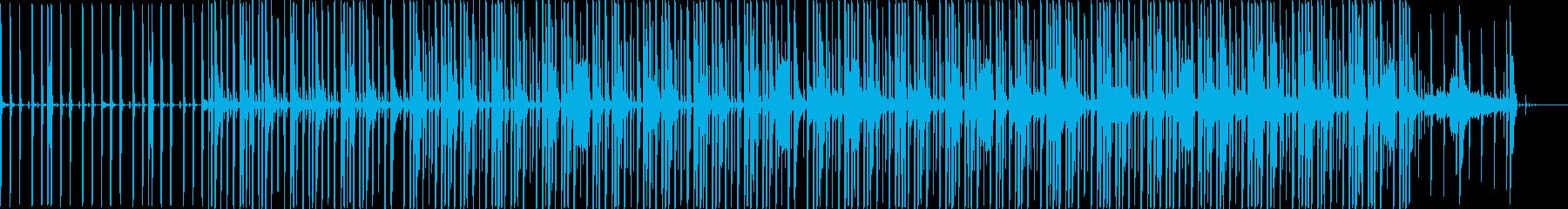 _(:3 」∠)_この顔文字っぽい一曲の再生済みの波形