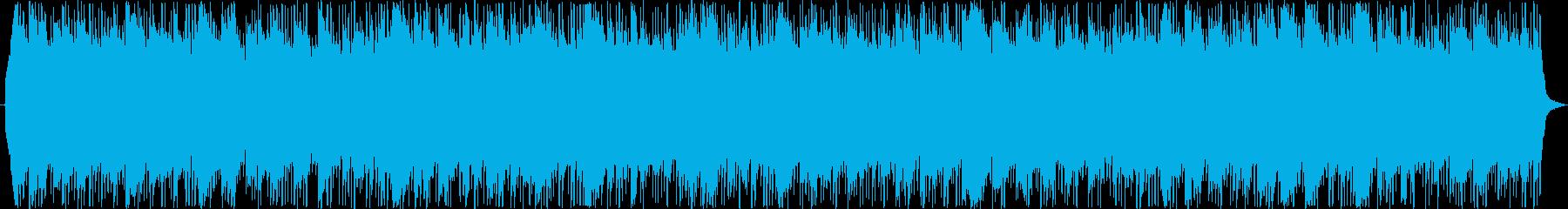メタル 劇的な 神経質 燃える エ...の再生済みの波形