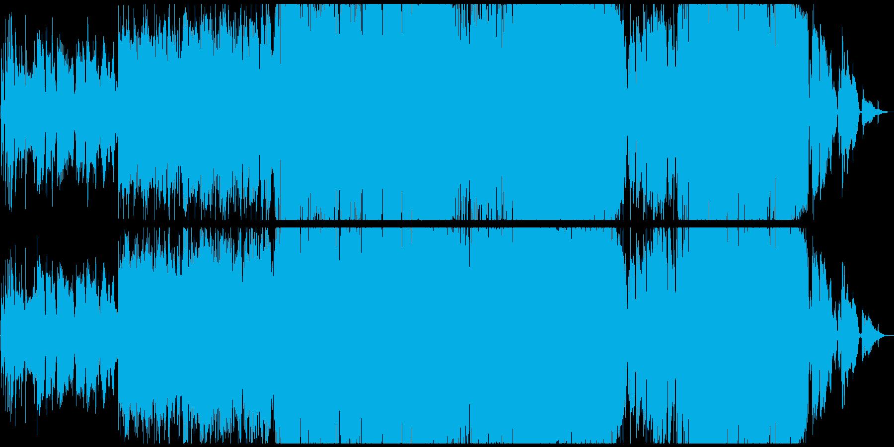 ハーフ男性が歌う優しい日本語バラードの再生済みの波形