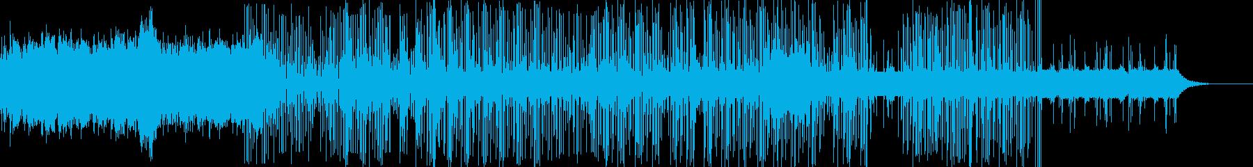 ホッピングシンセサイザーによって録...の再生済みの波形