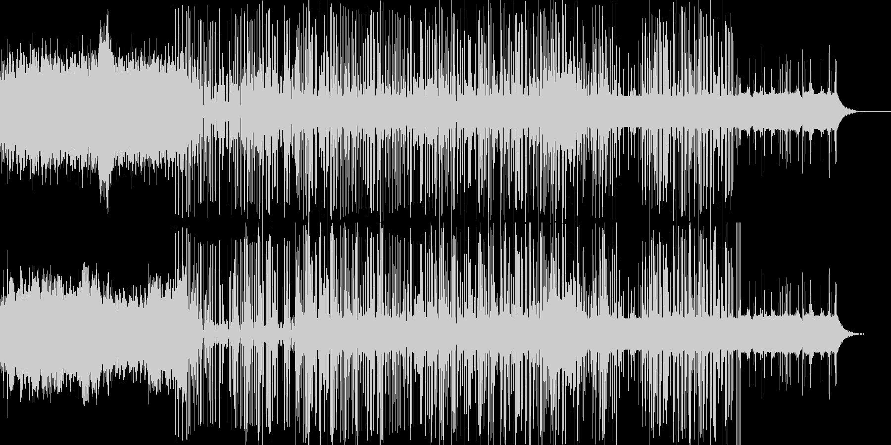 ホッピングシンセサイザーによって録...の未再生の波形